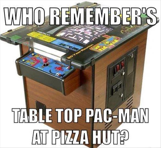table top pac man