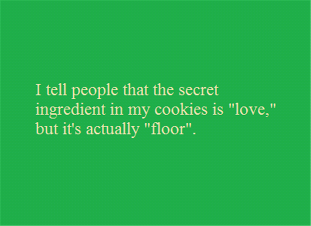 the secret ingredient in cookies