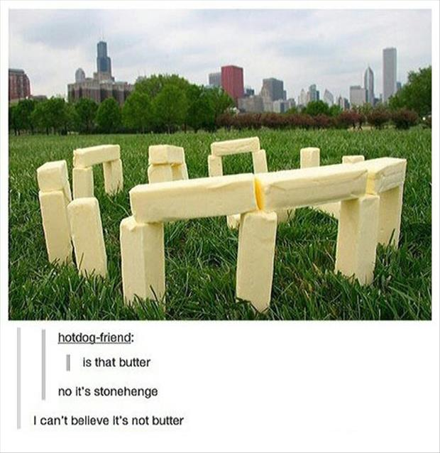 I can't belive it's not butter