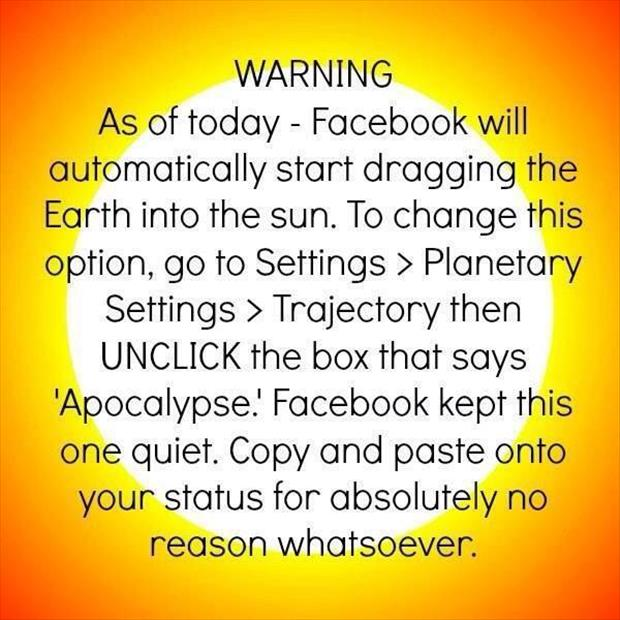 facebook warnings