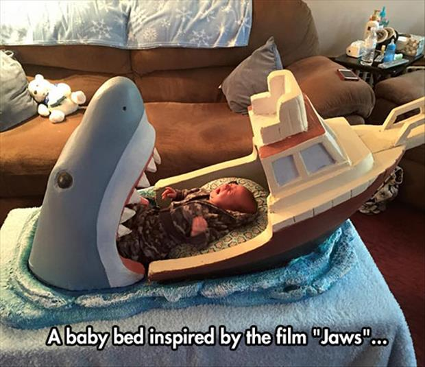 funny baby beds