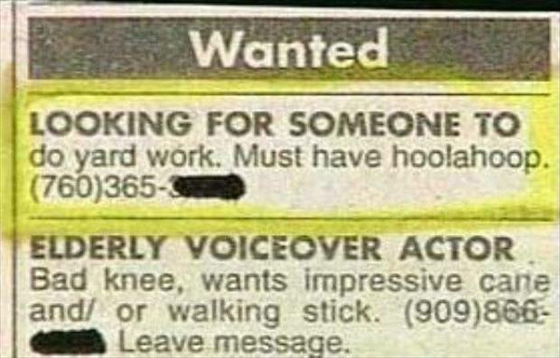 funny classified ads (2)