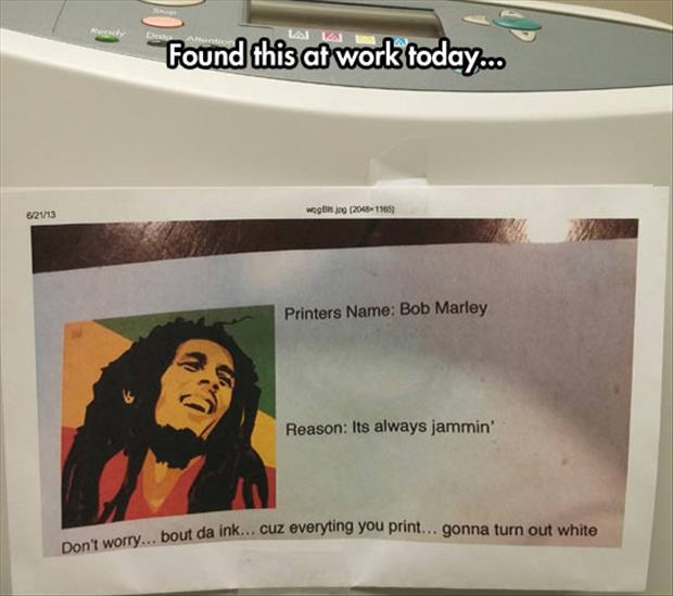 funny office notes
