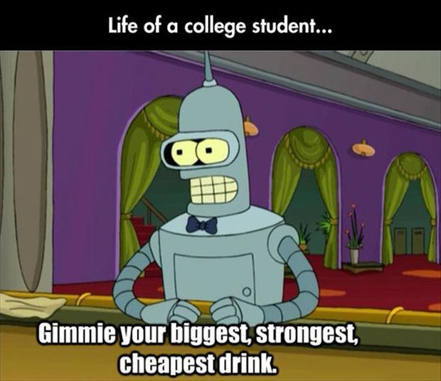 life of a college student