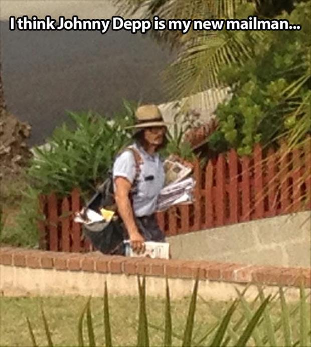my new mail man