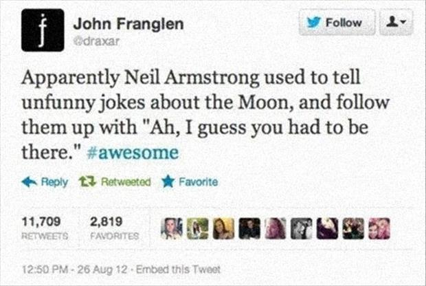 neil armstrong jokes