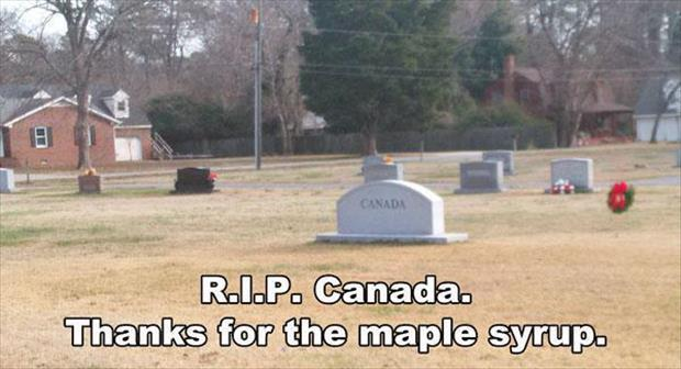 rest in peace canada