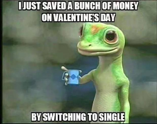 save money on valentine's day funny