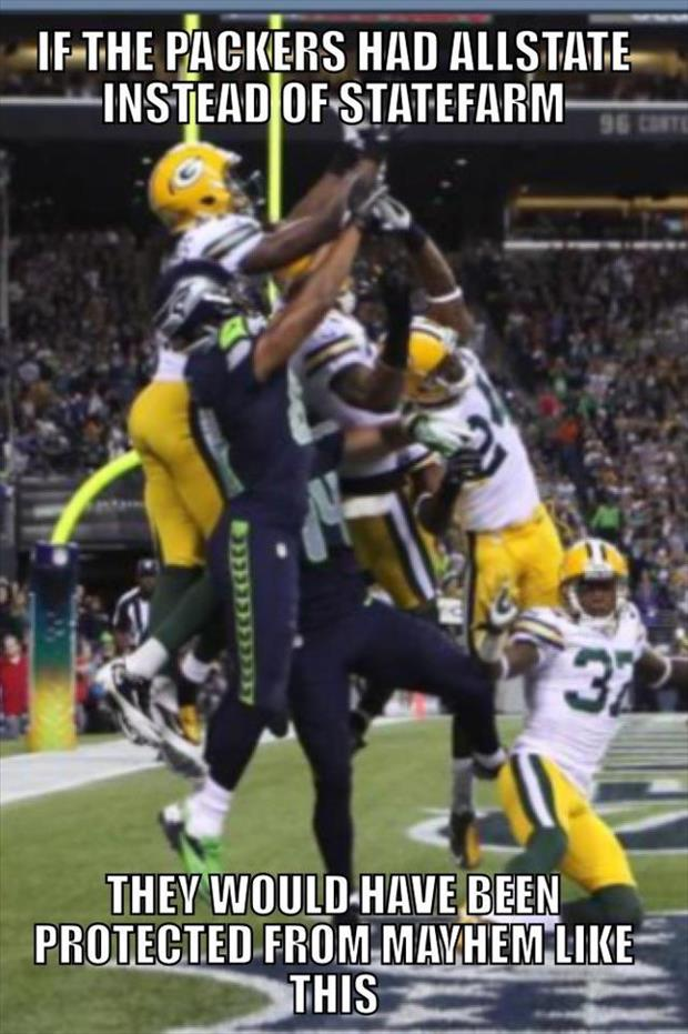 the seahawks and packers