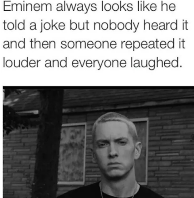 this is what eminem looks like