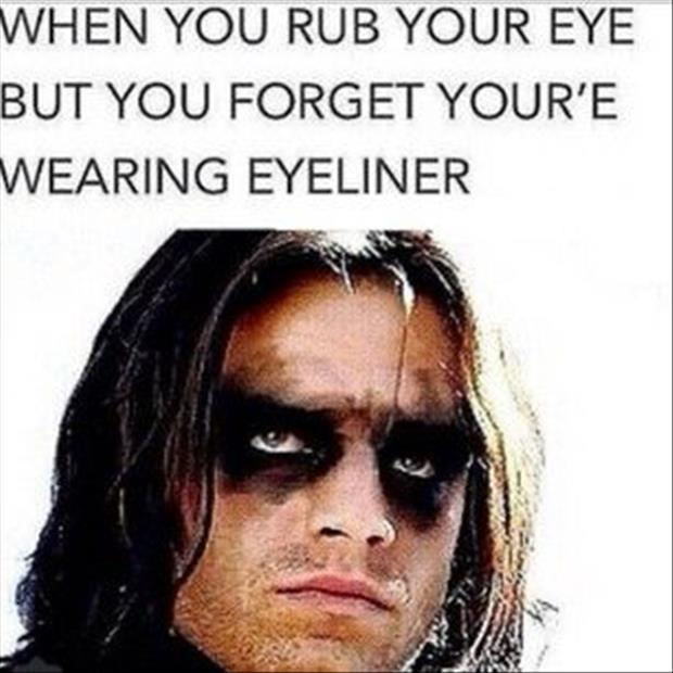 when you rub your eyes