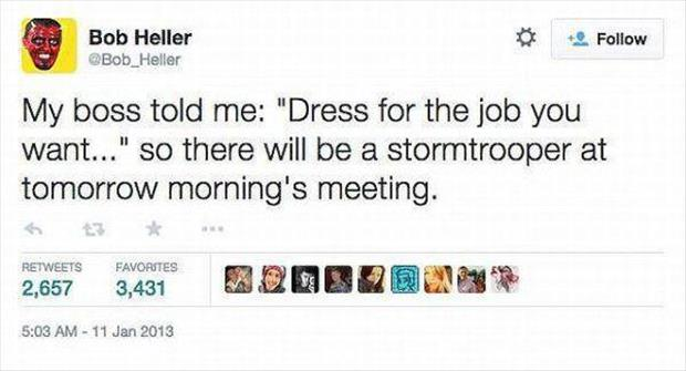 you should dress for the job you want