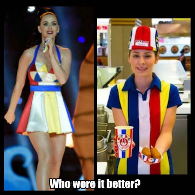a who wore it better katy perry
