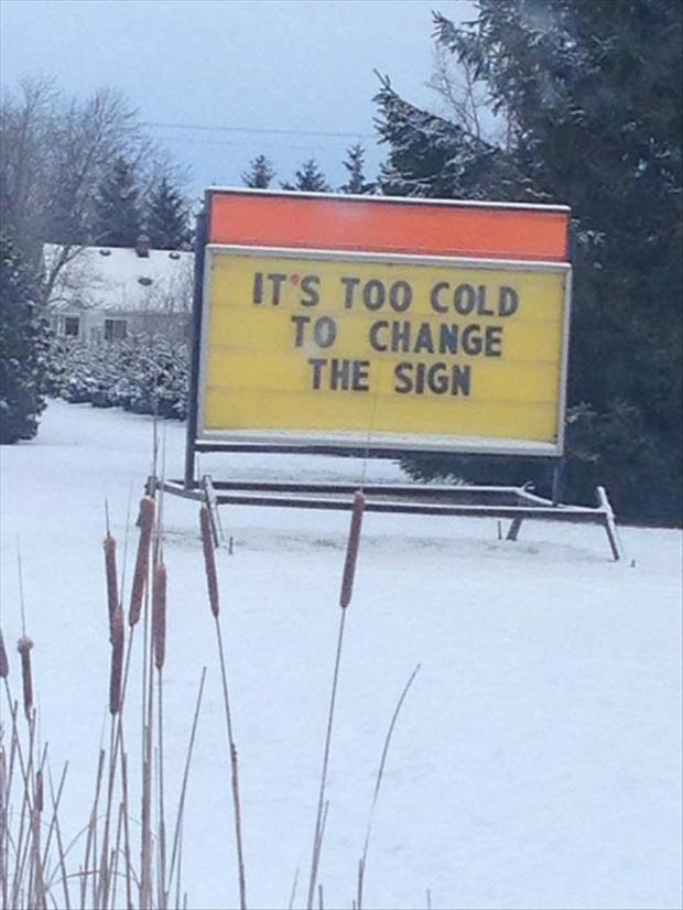 funny business signs