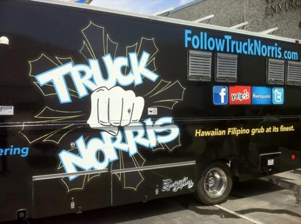 The Best Food Truck Names You'll See All Day! - 27 Pics