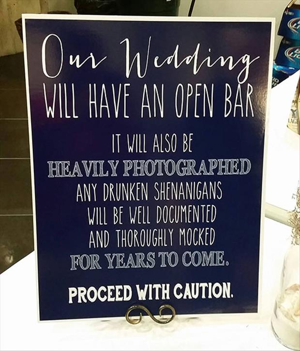 funny wedding announcements