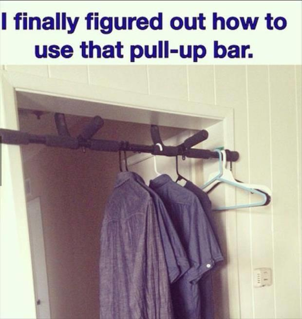 how to use a pull up bar