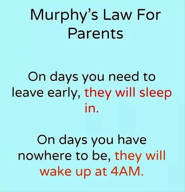 laws of parenting