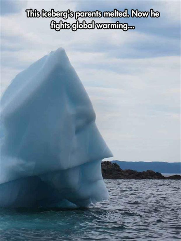 not the iceberg we need right now