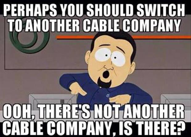 switch to another cable company