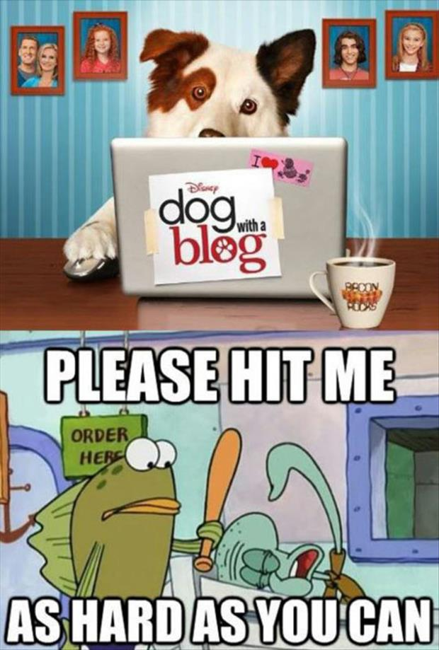 the dog with a blog
