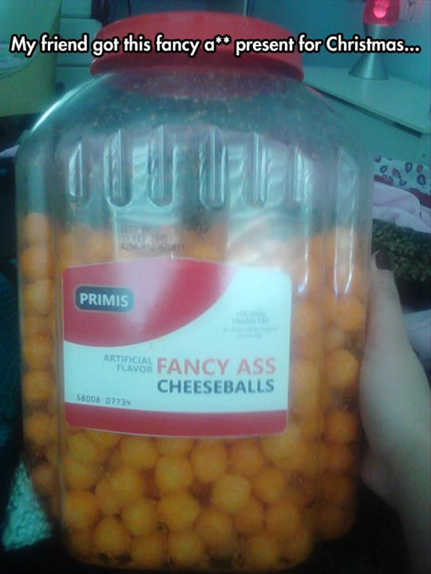 the fancy cheeseballs