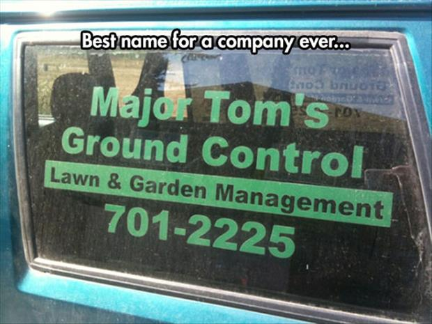 Major tom's ground control