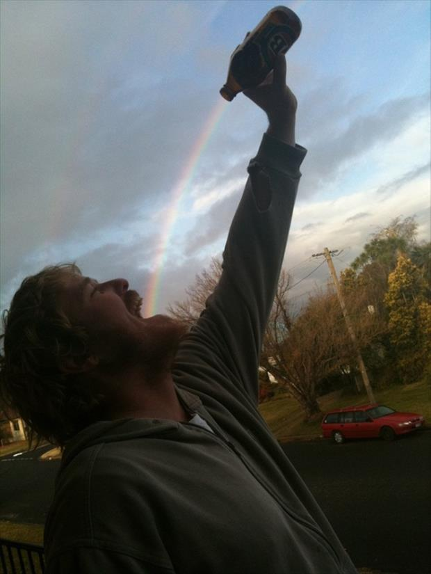 Ever Wonder Whats Really At The End Of The Rainbow 18 Pics