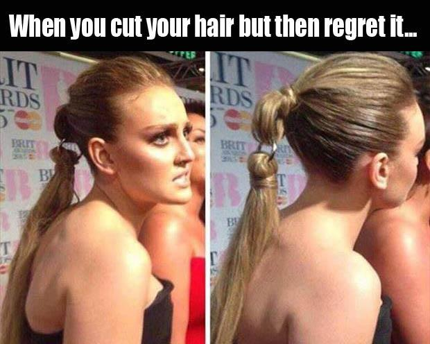 cutting your hair
