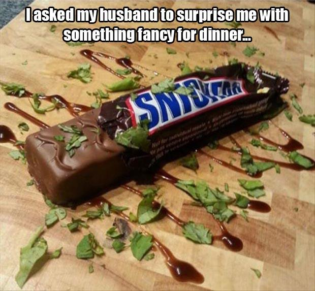 fancy snickers