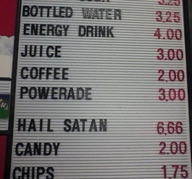 After Looking At These Menus I'm Suddenly Not Hungry - 15 Pics