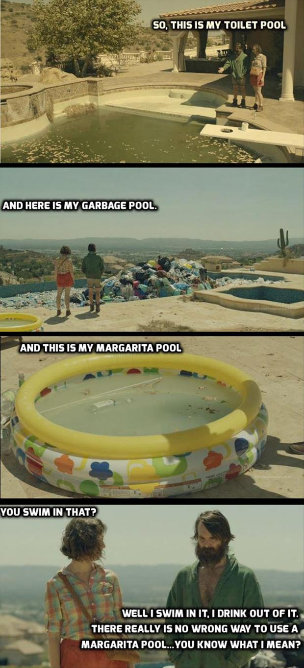 funny swimming pools