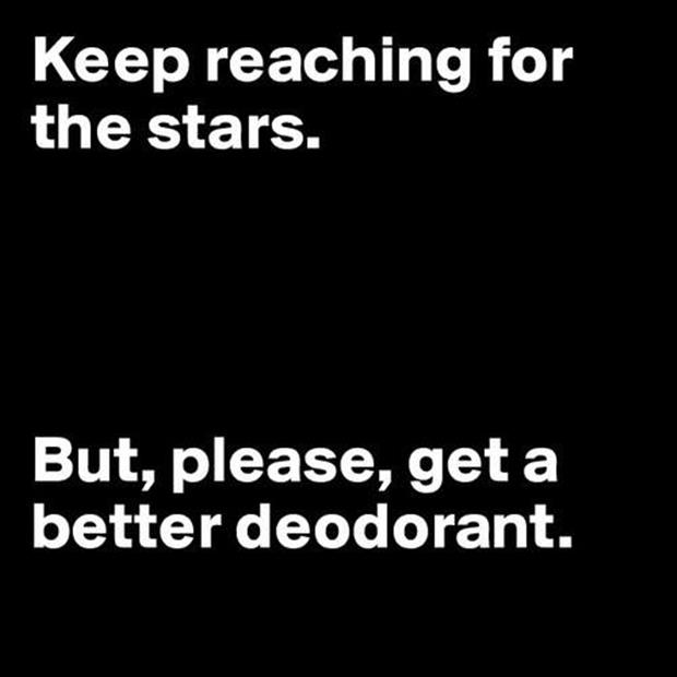 keep reaching for the stars