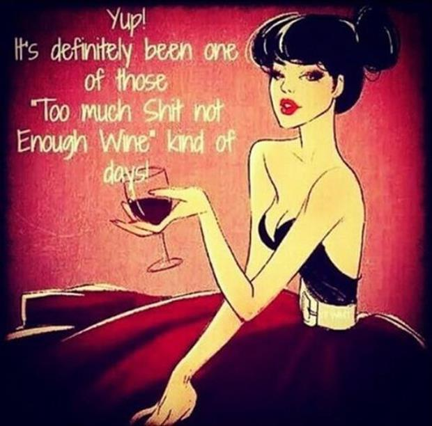 not enough wine