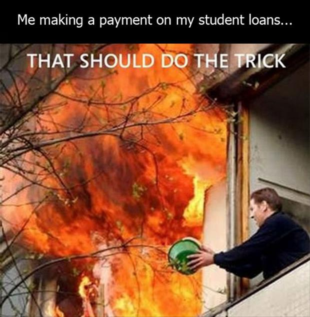 paying your student loan