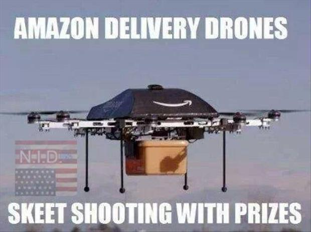 the amazon delivery drones
