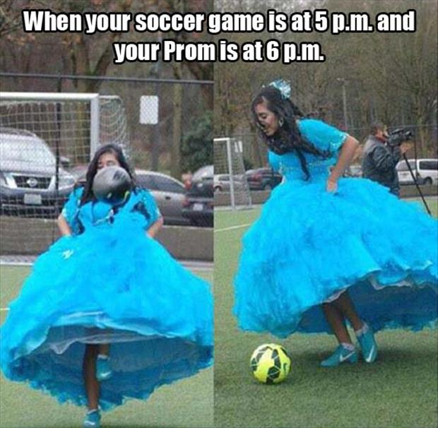 the funny soccer game