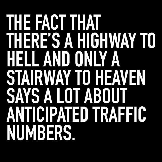 traffic to heaven