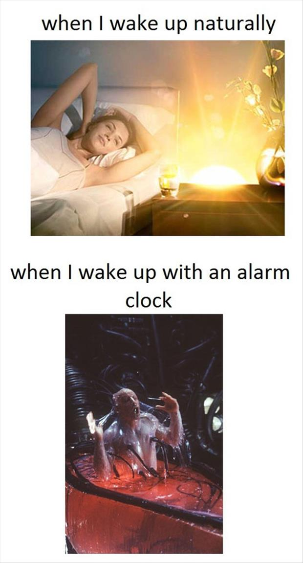 when I wake up