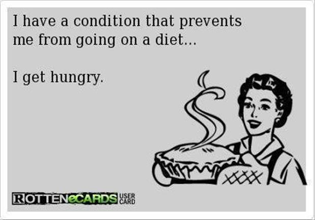 why I can't go on a diet