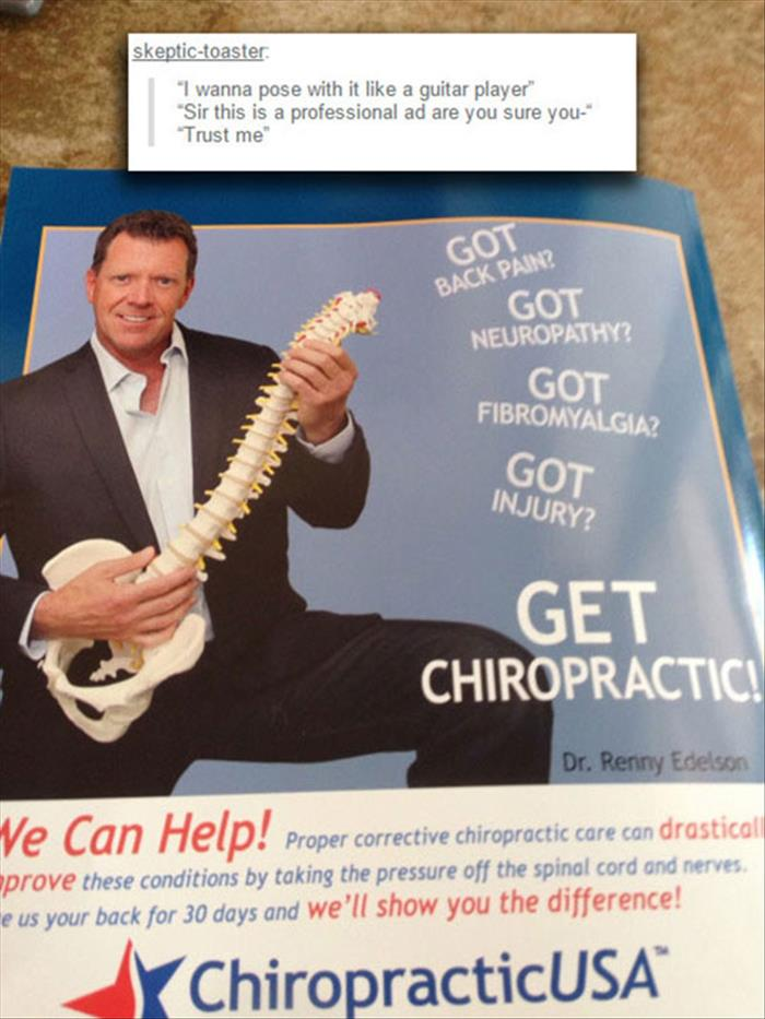a funny chiropractor