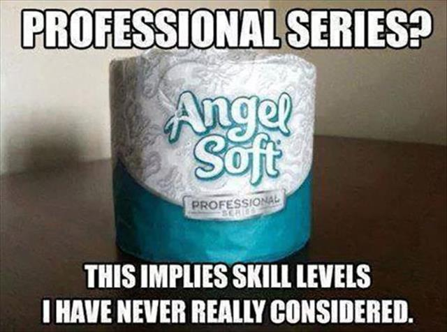 a professional series toilet paper