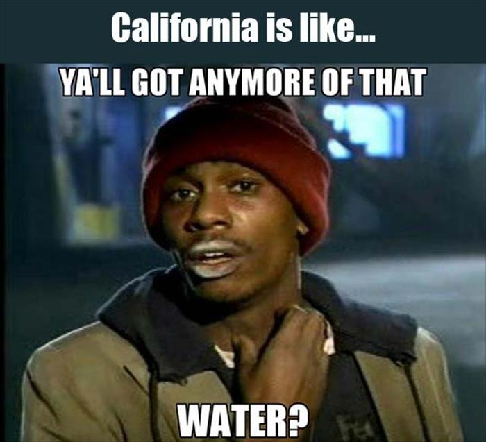 california is like