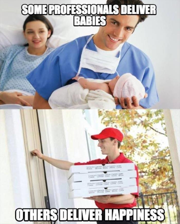 delivering a baby