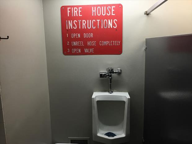 firehouse instructions