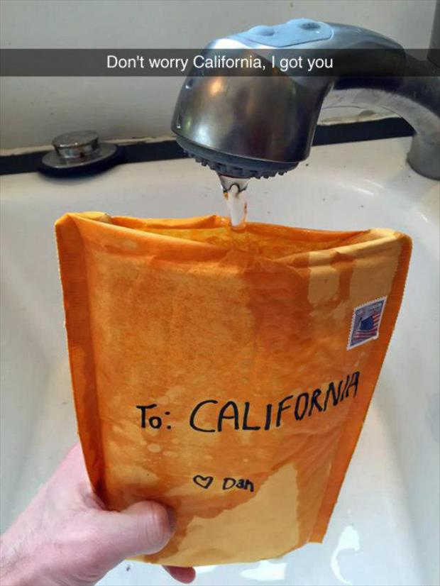 helping california with the water crisis