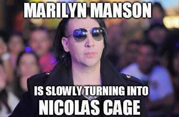 marilyn manson nick cage