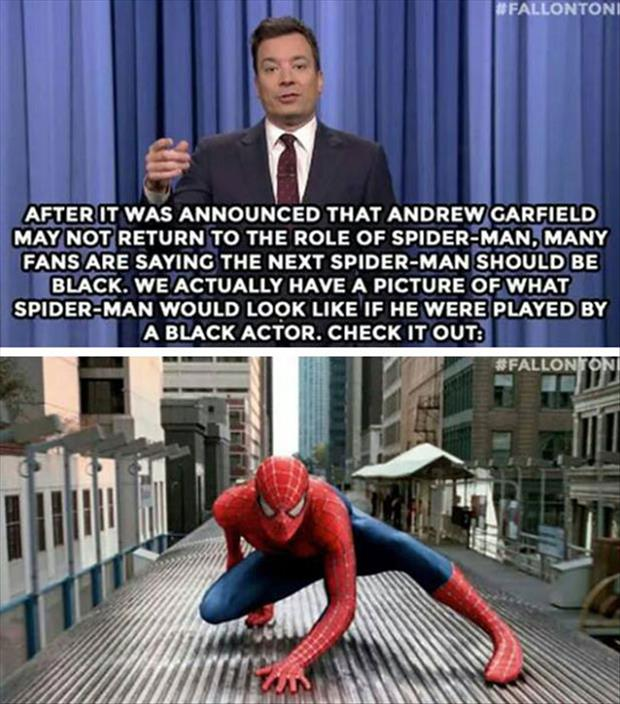spider man played by a black actor