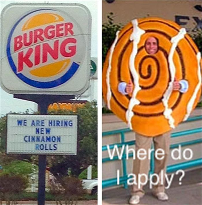 the burger king ads