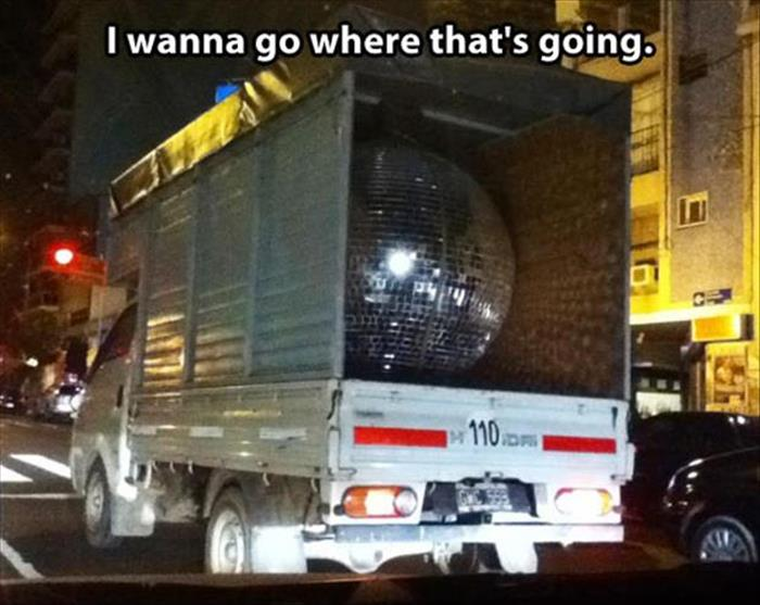 the disco ball